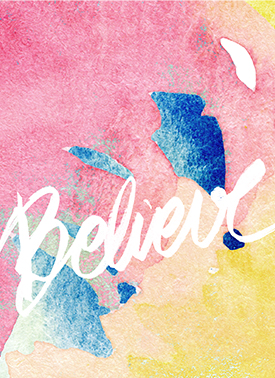 art prints - Look closer and BELIEVE by Tatiana Soares