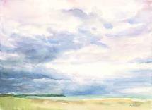 Dreamy Landscape no.2 by Melissa Hyatt