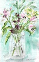 Pink Bouquet by Melissa Hyatt