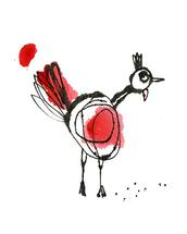 Poof & Peck by Marsha Gray Carrington
