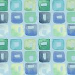 Seaglass Squares by Melissa Hyatt