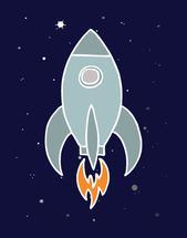 Rocket by Sarah Cohn