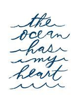 The Ocean Has My Heart by Little Miss Missy