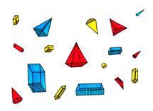 Playful Shapes by Maria Machneva