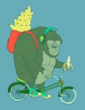 Banana Bike by Jessica Henry