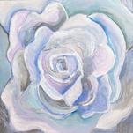 Ocean Rose Blooming by Hannah Lowe Corman