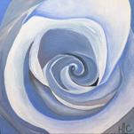 Serene Spiral by Hannah Lowe Corman