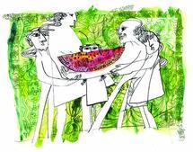 Family of Watermelon by Charlotte Noruzi