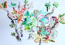 Cactus Garden by Charlotte Noruzi