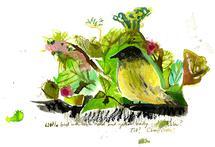 Yellow Bird by Charlotte Noruzi