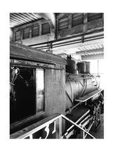 Vintage Train 1 by jennifer evangelist