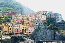 The Colors of Corniglia by Jenny Johannsen