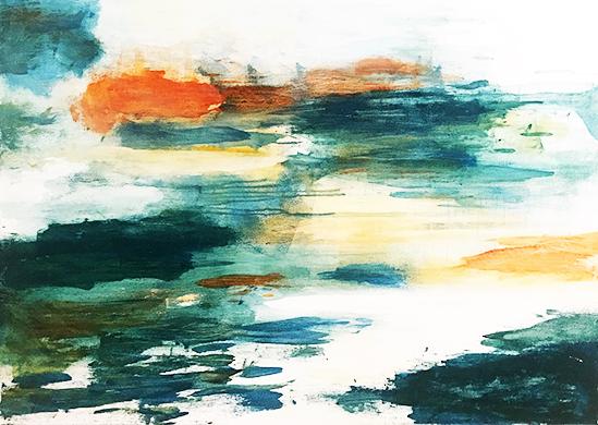 art prints - Like Heaven by Artsy Canvas Girl Designs