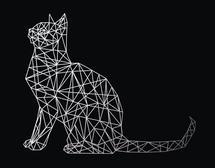 Geo Cat by Marsha Gray Carrington