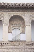 Moorish Palace Balcony by Rebecca Rueth