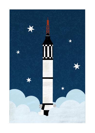art prints - To the Stars by Kamala Nahas
