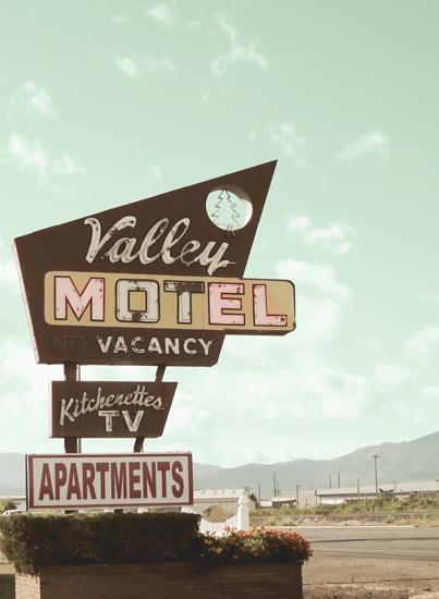 art prints - Valley Motel by Elky Ink