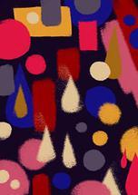 Colorful shapes by Cecilia Granata