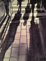 Bloor Street Shadows by Cathleen Earle