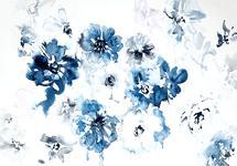Indigo Blooms by Amy Barnhart