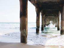 Under The Pier by Kathy Par