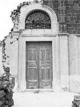 Rustic Door by Kathy Par