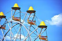 Yellow Ferris Wheel by JD