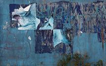 Blue Graffitti by SARA SILL