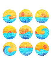 Surf Gallery Series by Kelly Coral