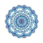 Blue Mandala by Ronni L Brown