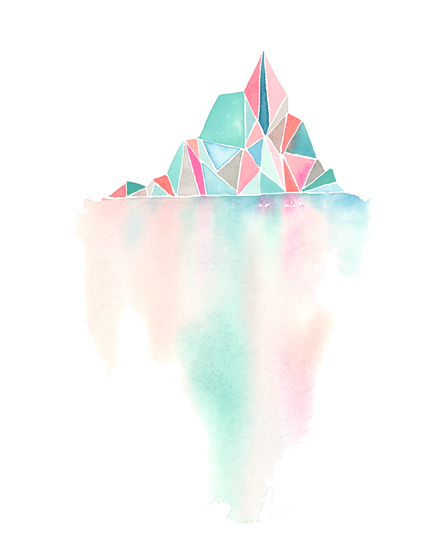 art prints - Tip of an Iceberg by Jean Choe