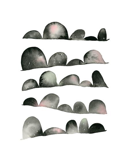 art prints - Wiggle Wiggle by Jean Choe