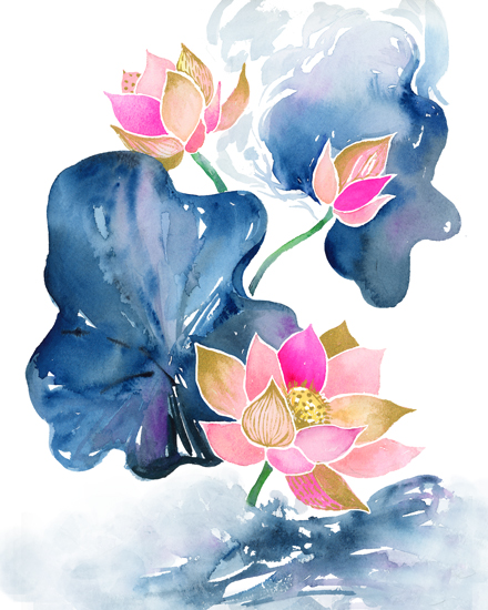 art prints - Dance and Bloom by Jean Choe