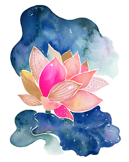 art prints - Quiet Bloom I by Jean Choe