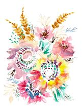 Meadow Flowers by Amy Barnhart