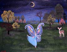 Butterfly Fairy Under t... by Marie Barletta