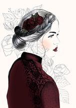 Crimson Rose by Christie Elise