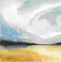 prairie cloudscape by Kara Aina