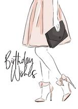 Birthday Glam by Christie Elise