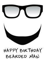 Bearded Birthday by Estefanie Tawoy
