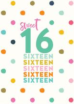 Sweet Sixteen Polka Dot... by Paper Etiquette
