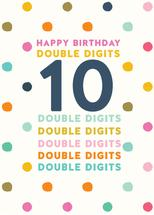 Double Digits Tenth Bir... by Paper Etiquette
