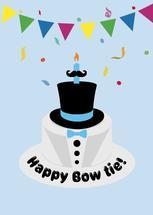 Happy Bow Tie by Jair Bontilao