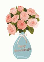 Anniversary Flowers by Audra Candelaria