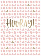 Hooray! by Sugar Pie Paper