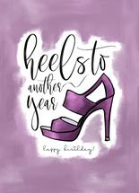 Heels to Another Year!... by Tanya Webb