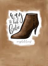 Way to Kick Bootie! Con... by Tanya Webb