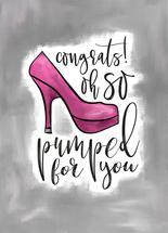 Congrats! Oh So Pumped! by Tanya Webb