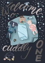 Welcome Cuddly One by Hiba Malik