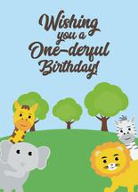 One-derful Day by High5ive Creative